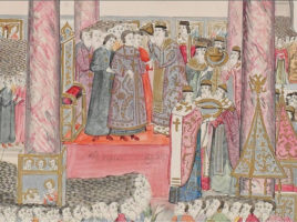 Венчание на царство царя Михаила Феодоровича.