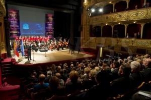 Униаты, католики и протестанты на Экуменическом концерте в Кошице 17 октября 2013 года.