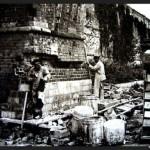 Реставрация перед сносом 1928 г.