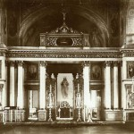 Иконостас в церкви Св. Екатерины в Воспитательном доме на Солянке в Москве.