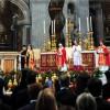 Сослужение папы Бенедикта XVI и Патриарха Варфоломея I. Ватикан, 29 июня 2008 г.