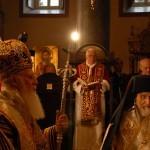 Бенедикт XVI на Божественной Литургии в православном храме св. Георгия. 30 ноября 2006 г.