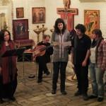 Поминальный концерт в храме отца Владимира Лапшина
