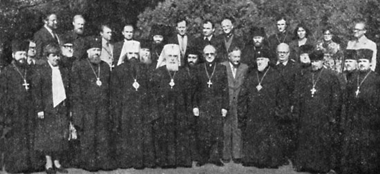 10-13 октября - VIII богословское собеседование с представителями евангелической церкви в Германии, Одесса.
