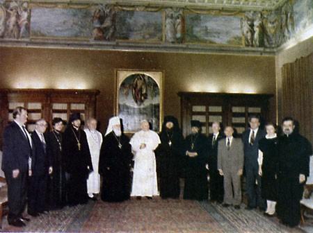 17 октября - аудиенция у папы Иоанна-Павла II.