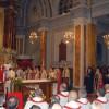 Патриарх Варфоломей I на мессе в католическом соборе Святого Духа, Стамбул. 1 декабря 2006 г.