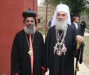 3 октября 2010 г. во время интронизации Сербского Патриарха Иринея в Печской Патриархии.