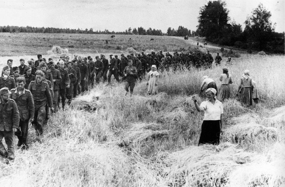 Украина. Немецкие военнопленные (нажмите, чтобы увеличить).