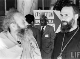 Митр. Антоний Сурожский на Генеральной ассамблее Всемирного совета церквей (Нью-Дели, 1961).