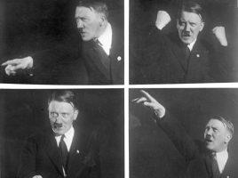 Гитлер выступает.
