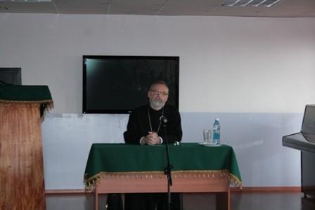 О. Георгий Кочетков проник в Новокузнецкую семинарию