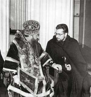Никодим Ротов и Мигель Арранц
