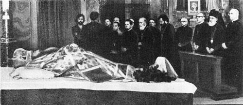Никодим Ротов – панихида в Ватикане. Заупокойное богослужение в храме св. Анны в Ватикане
