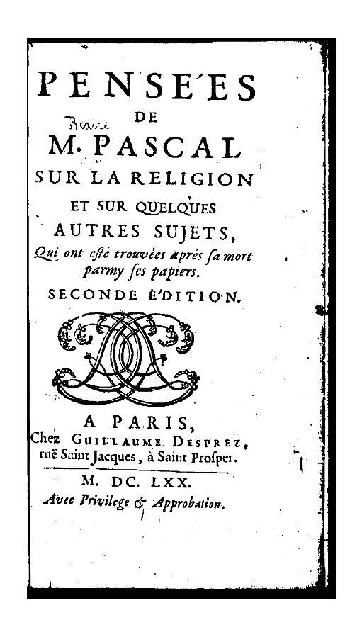 Мысли Паскаля