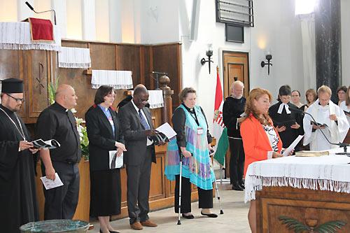 В Будапеште с 3 по 8 июля проходит ассамблея Конференции евопейских церквей. Ассамблея открылась экуменическим богослужением в реформатский кирхе, с участием православных, протестантов и старокатоликов.