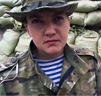 Надежда Савченко пытала священника