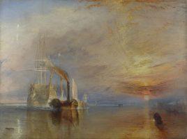 """""""Последний рейс корабля «Отважный»"""". Уильям Тернер, 1839."""
