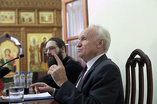 А.И. Осипов и о. Савва (Тутунов).