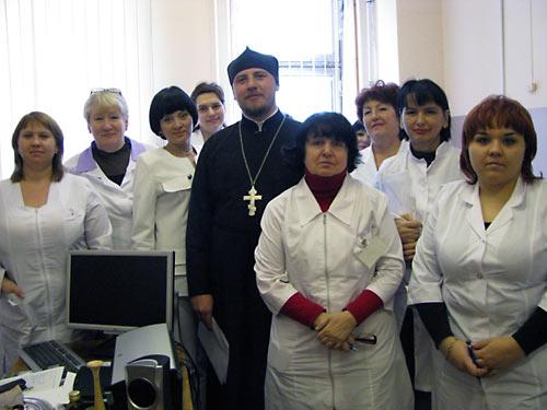 Духовник женской консультации и его подопечные.