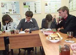 Встреча Православного молодежного актива Белгородской области.