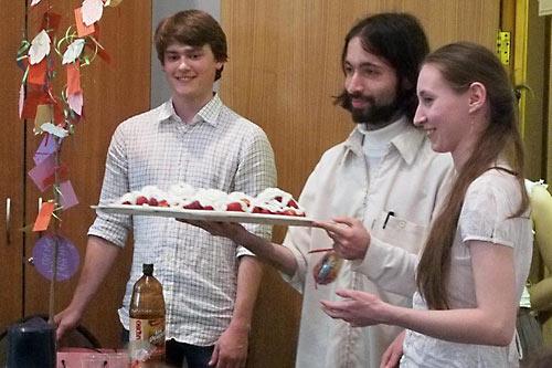 Агапа молодежного «Круга» Преображенского братства (секта о. Георгия Кочеткова) прошла на Антипасху в Свято-Филаретовском институте.