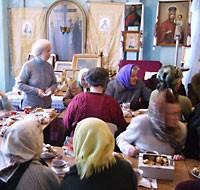 В Полтавской семинарии возродили агапы