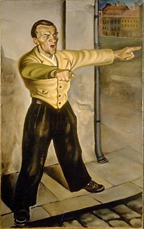 Curt Querner. Агитатор. 1931