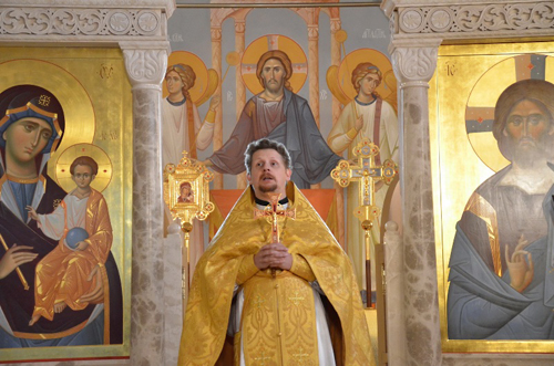 Богослужение на белорусском.
