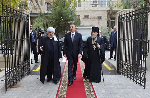Открыт центр Бакинской и Азербайджанской епархии