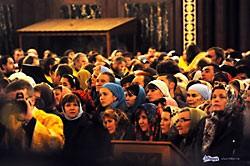 Пресвятая Богородица пришла к нам, и мы пришли к Пресвятой Богородице.