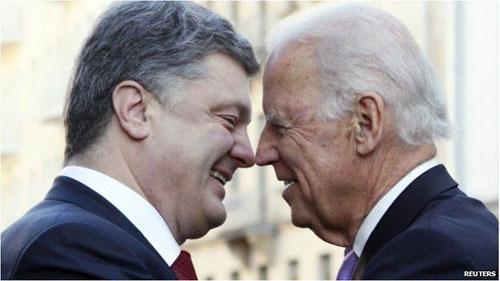 Байден и Порошенко