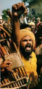 """""""Традиционалистите"""" от индуистката Бхаратия Джаната парти (Индийската народна партия)"""