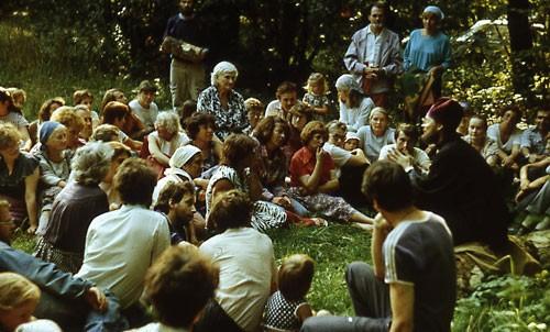 Братство Сретение: I Преображенский собор. 19 августа 1990 г.