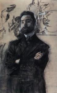 М. Врубель. Портрет поэта Валерия Брюсова. 1906 г.
