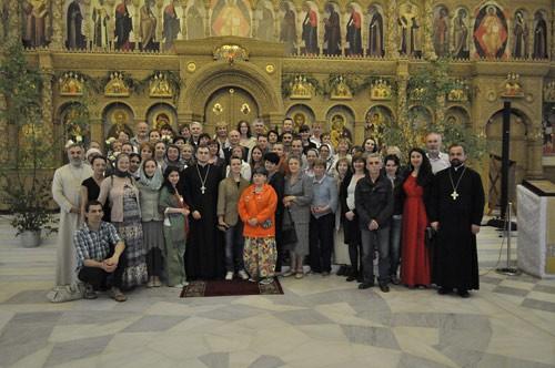 Католическое оглашение в православном соборе