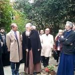 Открытый извращенец мэр Парижа Бертран Деланоэ посетил в пятницу, 18 октября, Парижский богословский институт