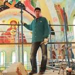 """""""Чем же вы руководствовались, когда решили вот так вот разрисовать храм?"""". О. Ростислав (Якубовский) был лаконичен: """"Нравится, просто. Ну, весело же. Позитивно."""""""
