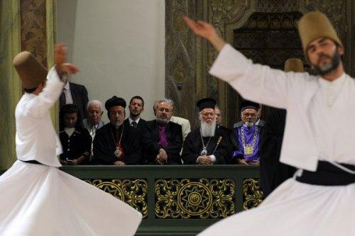 Болгарский Патриарх на магометанском ифтаре