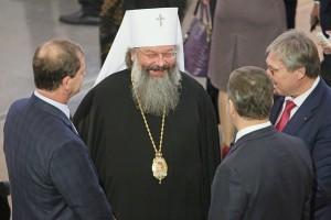 Митрополит Кирилл на открытии Ельцин-центра