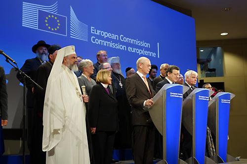 30 мая в Брюсселе состоялась встреча руководства Евросоюза с религиозными лидерами Европы.