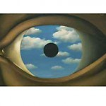 René Magritte. The False Mirror (1928)