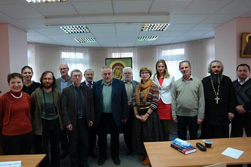 """Конференция в ПСТГУ """"Самый выдающися русский философ""""."""