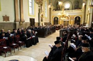 Униатский собор в Кошице. 17 октября 2013 года