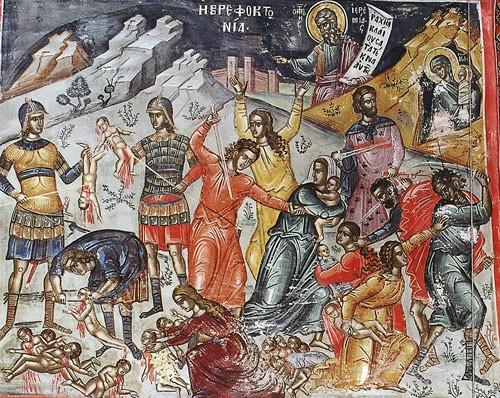 Мчч. 14 000 младенцев, от Ирода в Вифлееме избиенных