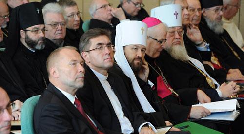 Митр. Иларион на конференции «Будущее христианства в Европе: роль Церквей и народов Польши и России»