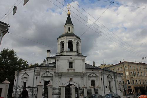 инцидент в московском храме Успения в Печатниках.