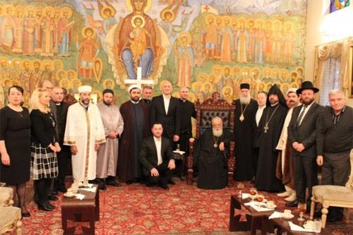 Международный день толерантности в резиденции Грузинского Патриарха