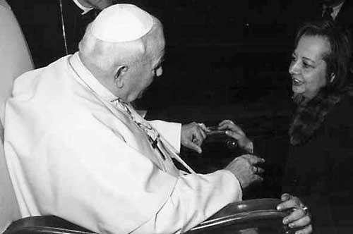 Иоанн-Павел II и Иловайская-Альберти, Ирина Алексеевна