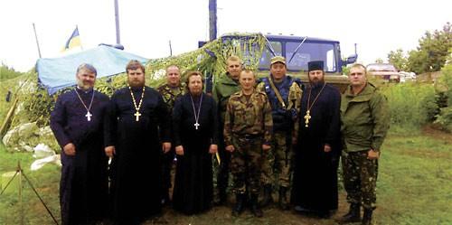 """""""Милосердие"""" и """"миролюбие"""" встретились на Изюмском блокпосту"""
