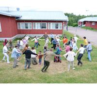 С 7 по 13 июня в деревне Колбино под Санкт-Петербургом состоялась сессия для супружеских пар Кана.